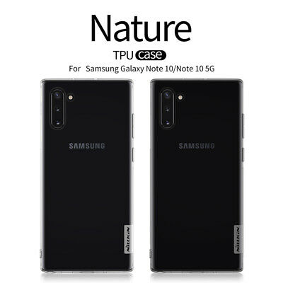 NILLKIN Nature TPU Silicone Soft Thin Back Case Cover For Samsung Galaxy Note 10