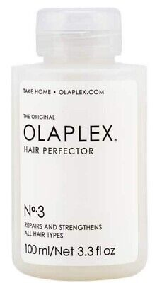 Olaplex Hair Perfector No 3 Repairs & Strengthens All Hair Types 100 Ml/3.3 Oz