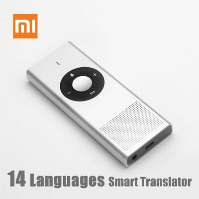 Xiaomi Moyu Smart AI Voice Translator Portable Microsoft Translation 14 Language