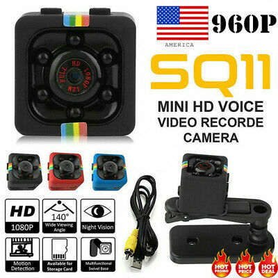 SQ11 Full HD 1080P Mini Car Hidden DV DVR Camera Spy Dash Cam IR Night Vision EV