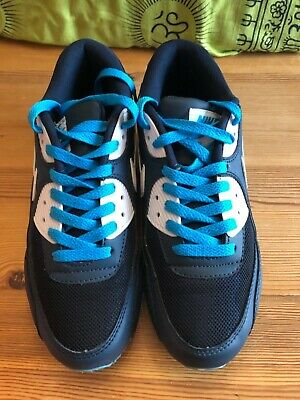 NIKE AIR MAX 90 Hyperfuse iD All Blue EU 42,5 Sneaker 4th Of