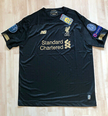 Liverpool Goalkeeper Football Shirt Jersey 2019 2020 - New With Tags - Size L