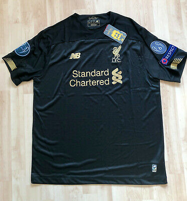 Liverpool Goalkeeper Football Shirt Jersey 2019 2020 - New With Tags - Size M