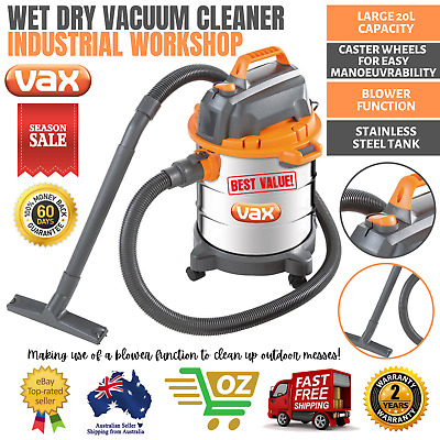 NEW INDUSTRIAL VACUUM CLEANER COMMERCIAL WET DRY Bagless