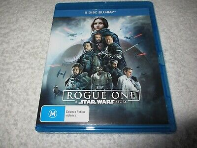 A Rogue One - Star Wars Story (Blu-ray, 2017, 2-Disc Set) Rated M D153