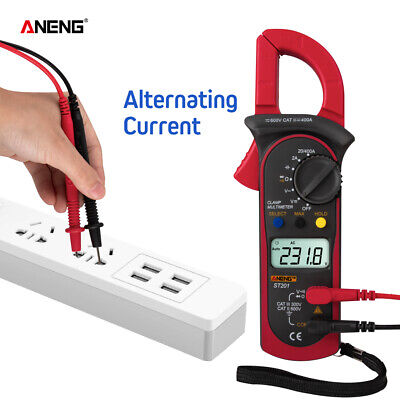 ANENG ST201 Digital Multimeter Amper Clamp Meter AC/DC Automotive Voltage Tester
