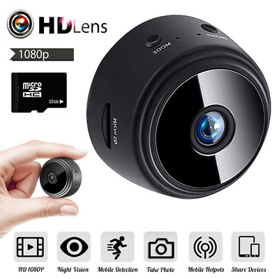 Mini Hidden Spy Camera WiFi Wireless  IP HD 1080P Network Monitor Security Cam X