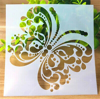 Hollow Octpus Layering Stencil Template Scrapbook Craft DIY Coffee Bar Decor