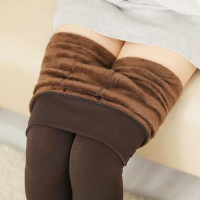 Cable Knit Cotton Sweater Skinny Stretch Footless Leggings Pants Winter Warm New