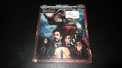 Iron Man 2 Steelbook 4K UHD+2D Blu-ray+Digital Bestbuy