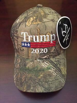 Trump 2020 MAGA Hat New Election Donald Trump Cap Realtree Presidential 2020 Hat