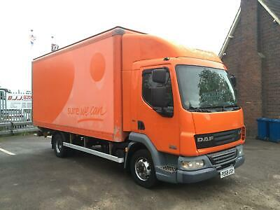 DAF LF45.160 18ft Box Van Tail Lift - ONE OWNER FROM NEW - LOW MILES