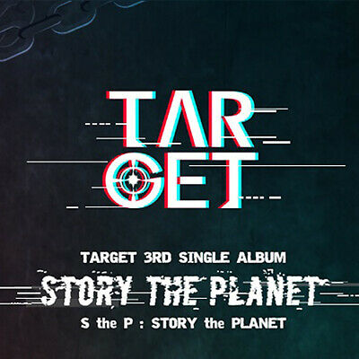 TARGET [S THE P] 3rd Single Album CD+POSTER+Photo Book+2p Card+Post Card+Sticker