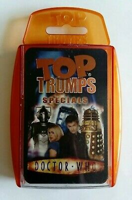 Top Trumps Dr Who Specials 2006 NM/M