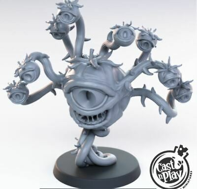 BEHOLDER ZOMBIE MAD mage lich undead Dungeons & Dragons
