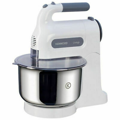Kenwood HM680 Chefette 350W 5 Speed Hand Mixer With Stand - White