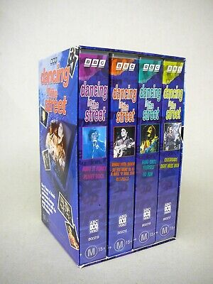 Dancing in the Street VHS Video Set - 4 Tapes (Still Sealed) Rock & Roll History