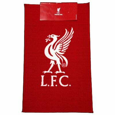 Liverpool FC Official Football Crest Rug Red LFC Official Floor Mat 2019 2020