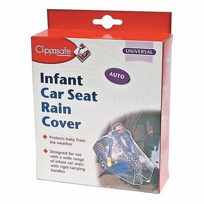 Clippasafe Infant Car Seat Rain Cover - Warehouse Clearance