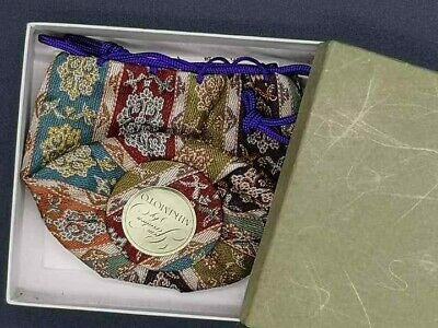 Japanese Fabric BAG MIKIMOTO for Tea caddy Tea Ceremony with box