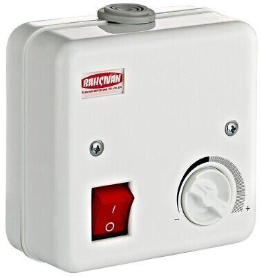 Electronic Speed Governor 1100 Watt 230 Volt Max. 5 Ampere