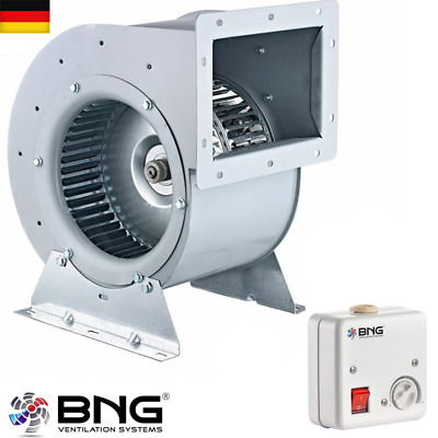 Catering Airbox Centrifugal Fan Fan Axial Centrifugal 2200m ³+ Speed Governor