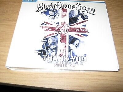 Thank You: Livin Live Birmingham UK October 30 - Black stone Cherry Blu ray + CD