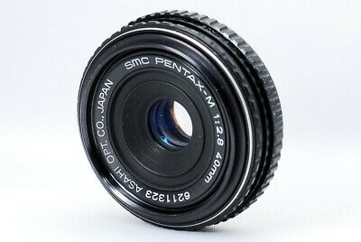 PENTAX SMC PENTAX-M 40mm F/2.8 PANCAKE MF WIDE ANGLE PRIME LENS K MOUNT [As-Is]