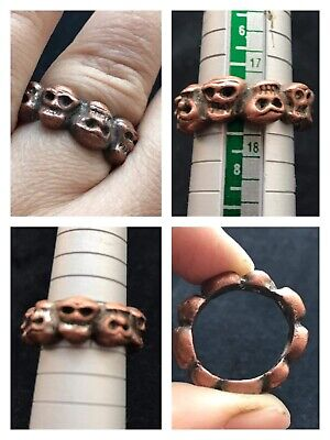 Beautiful very old Roman wonderful old bronze ring