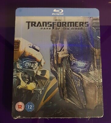 Transformers Dark Of The Moon Blu Ray Steelbook New And Sealed
