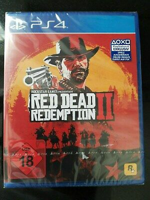 Red Dead Redemption 2 - PlayStation 4 PS4 - Neu & OVP