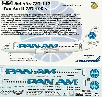 DECALS: 1/144 BOEING 737 Frontier Airlines by Rareliners
