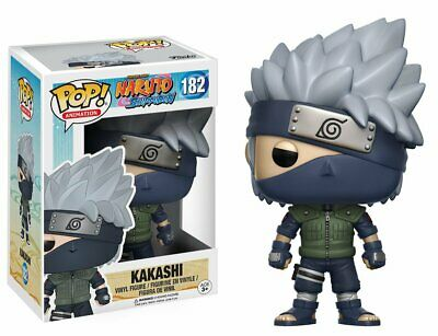 Funko Pop Animation: Naruto Shippuden - Kakashi Figure #182 w/ .5 mm Protector