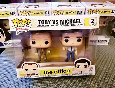 The Office Toby vs Michael Funko Pop 2-pack