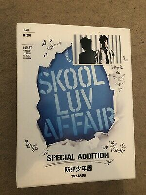 BTS Official Photocard Seokjin Jin Skool Luv Affair Specail Addition Edition NEW