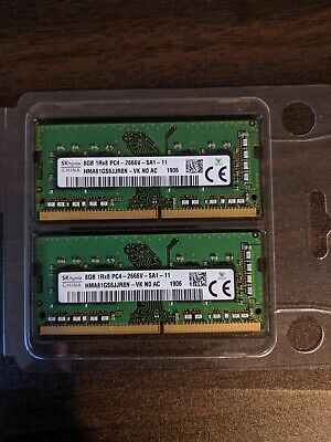 SK Hynix OEM 16GB (2x 8GB) DDR4 2666MHz PC4-21300 SO-DIMM Laptop RAM Kit