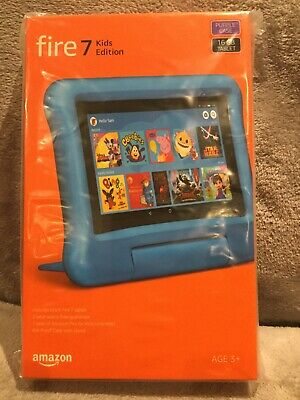 "AMAZON Fire 7 Kids Edition 7"" Tablet (2019)  16 GB Purple New And Sealed"