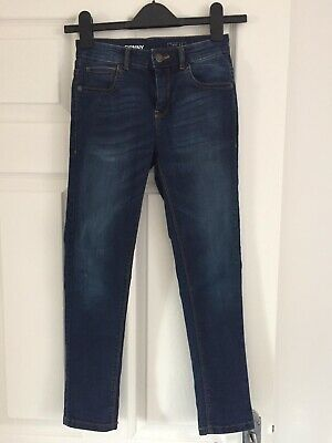 boys next skinny Blue jeans age 9 VGC Worn Very Occasionally
