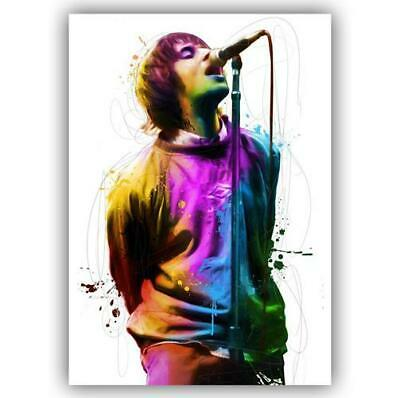 Liam Gallagher Oasis Poster Art Print - A4 A3 A2 A1 A0 Sizes