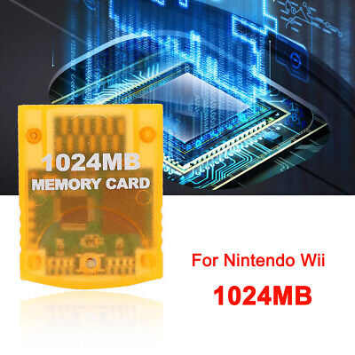 1024MB Memory Card for Nintendo Wii Game Console Gamecube System Large Capacity