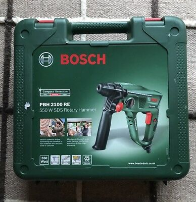 Bosch PBH2100RE Pneumatic Rotary SDS Hammer Drill & Case