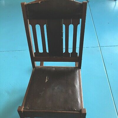 Vintage. 1860-1920. Wooden rocking chair funnel style.