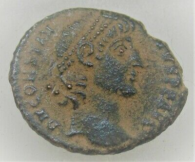 Unresearched Ancient Roman Bronze Coin To Identify