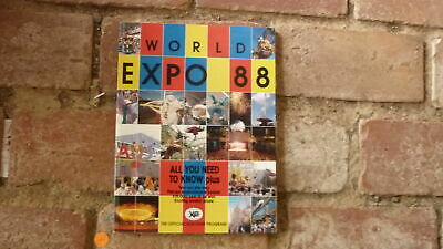 1988 Brisbane World Expo Event Official Programme, 150 Pages