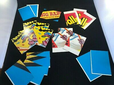 (20) 1973 Topps Wacky Packages Lot of 20~3rd & 5th Series~EX or Better