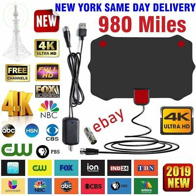 980 Mile Range Antenna TV Digital HD Skywire 4K Antena Digital Indoor HDTV Fox