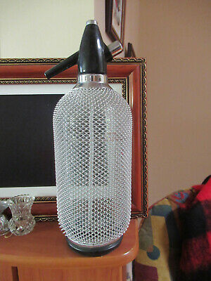 Mesh Covered Soda Syphon