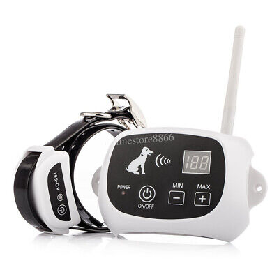 Wireless Electric Dog Fence Pet Collar 500M Containment System Fencing