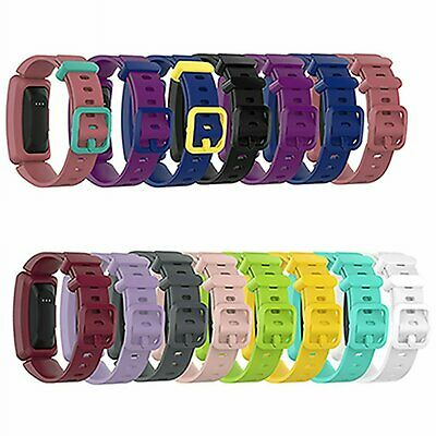 Colorful TPE Wristwatch Band Strap Replacement For Fitbit Ace2 Fitness Tracker