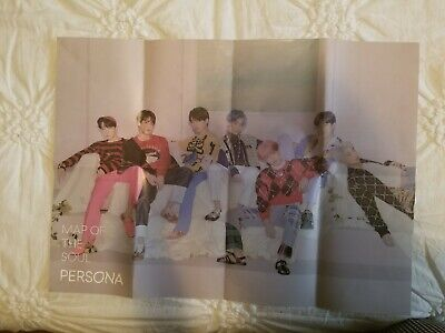 BTS MAP OF THE SOUL: PERSONA Official Folded Poster/ver. 4